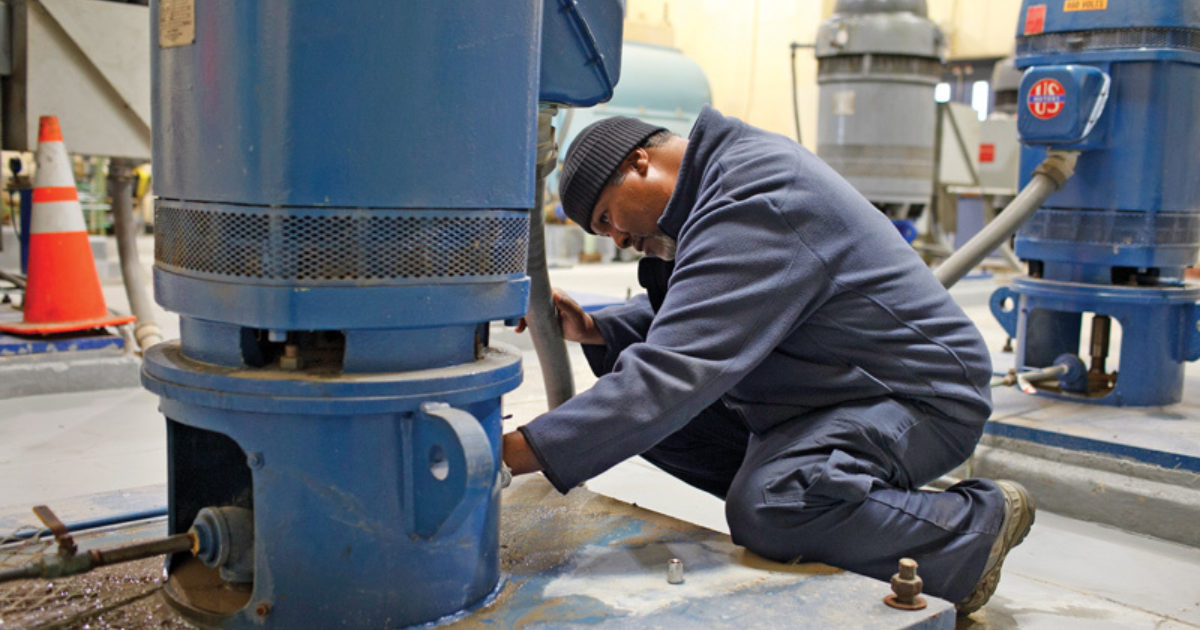 A New Direction   Treatment Plant Operator
