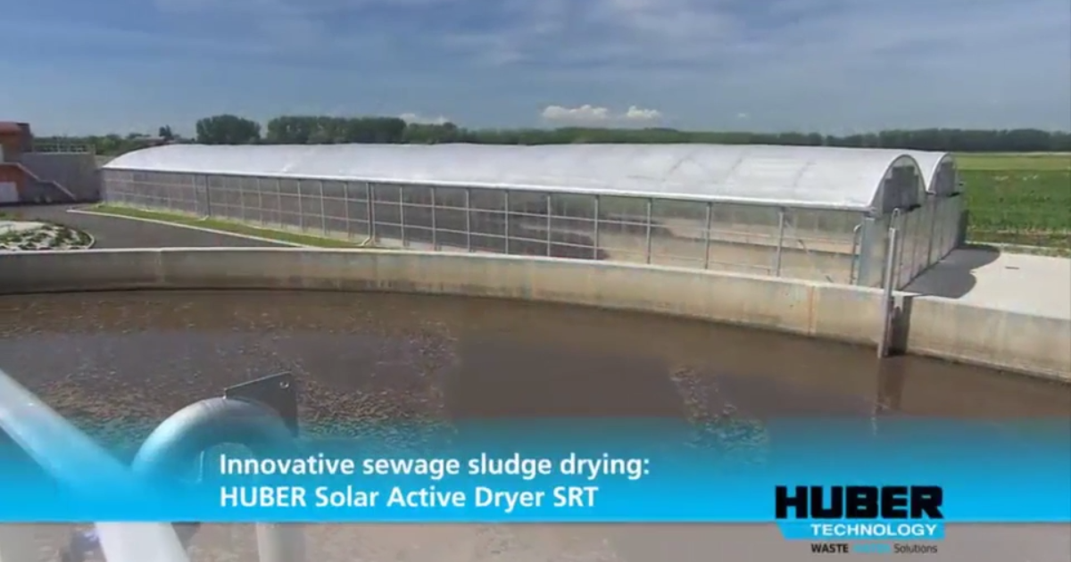 Why Use The Srt Solar Active Drying System Treatment Plant Operator