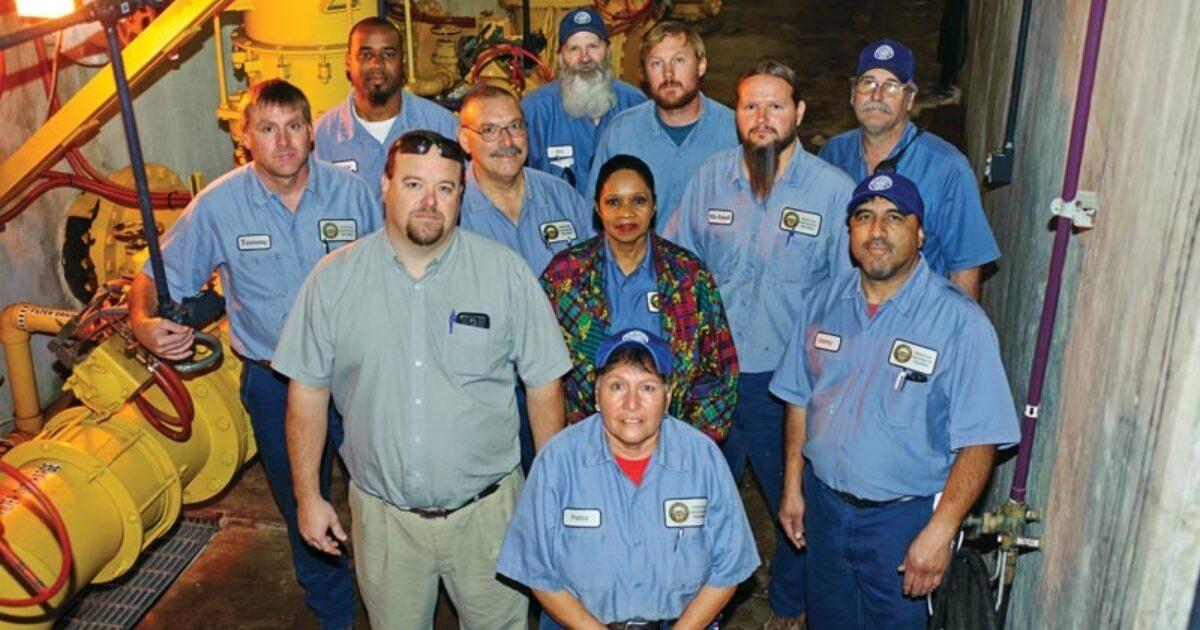 Amarillo Clean Water Plants Emphasize Treatment Plant Operator