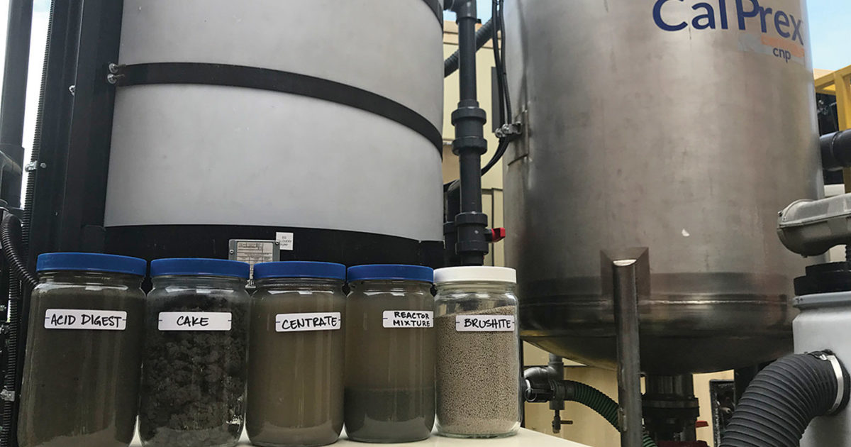 You Know About Struvite. Now Meet Brushite — From a New Phosphorus Recovery Process