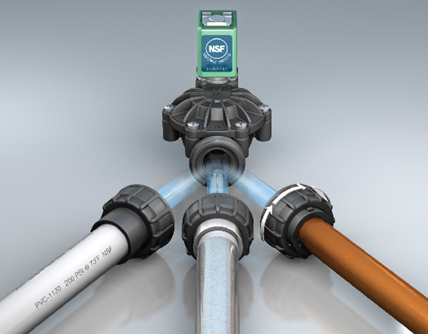 Series 212 composite valves from ASCO