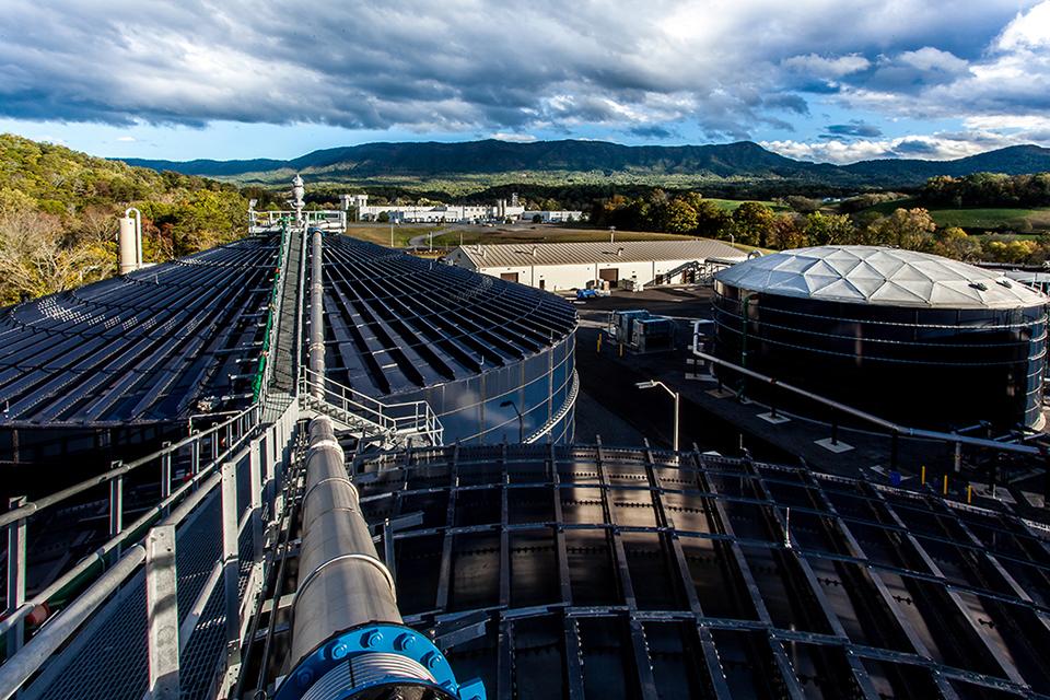 The Bush Beans Process Water Reclamation Facility. (Photo By Antonio Valdivia)