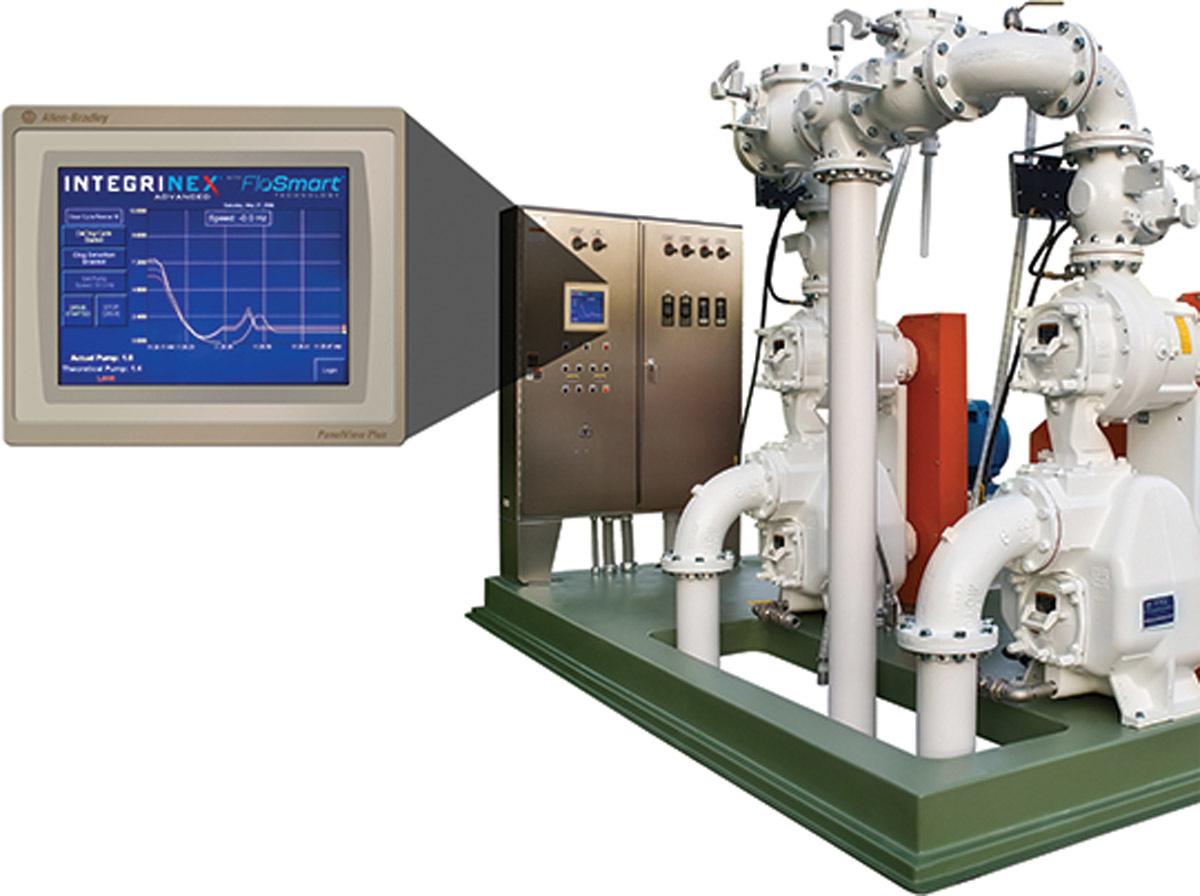 Integrinex Advanced lift station controls from Gorman-Rupp