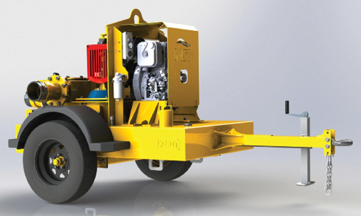 DD-6 trailer pump from Myers Seth Pump