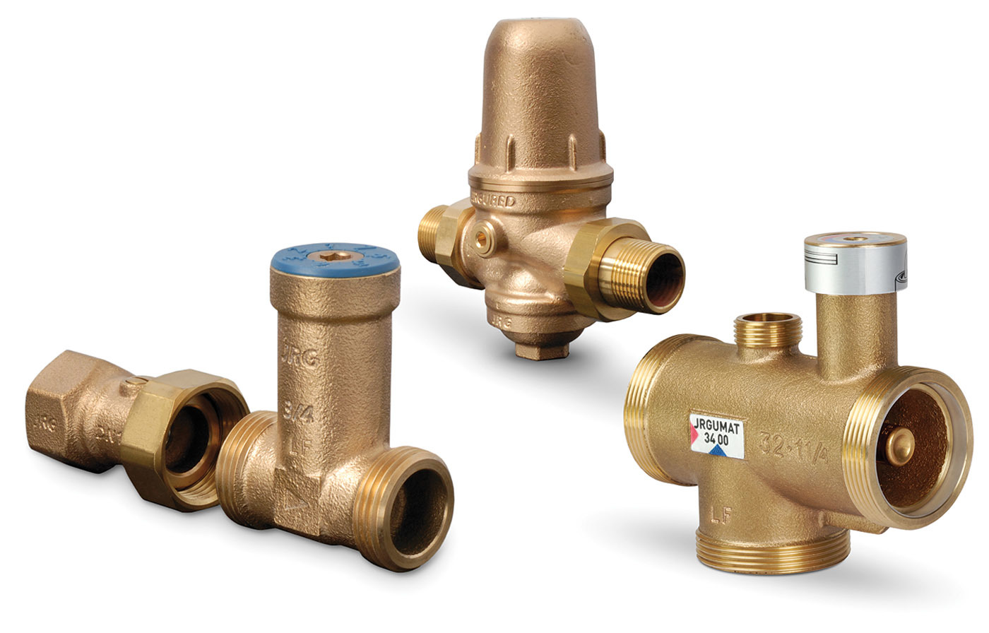 NSF lead-free brass valves from GF Piping Systems