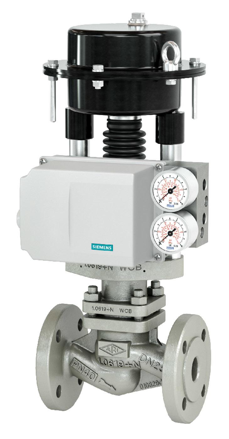 Sipart PS100 valve positioner from Siemens Process Instrumentation